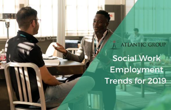 social work employment trends
