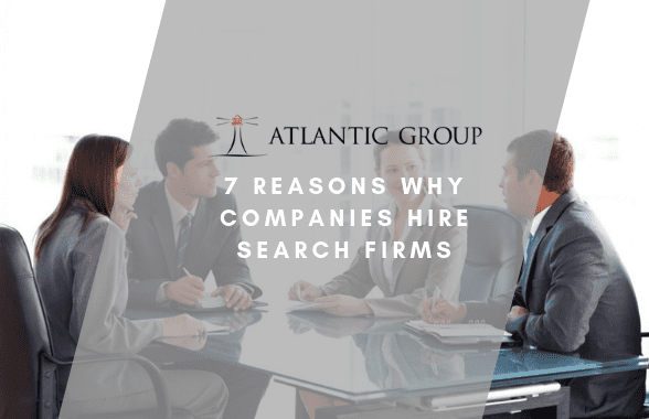 why hire a search firm